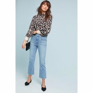 Levi's Light Wash Mile High Cropped Flare NWT $98